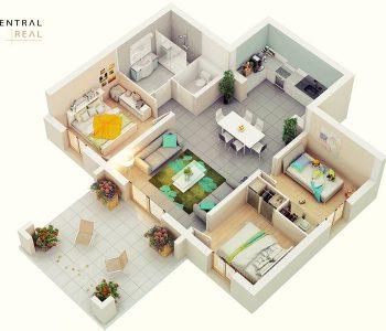 Mẫu thiết kế nhà chung cư
