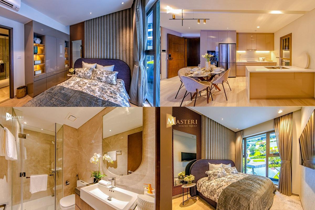 Mẫu thiết kế căn 2 phòng ngủ