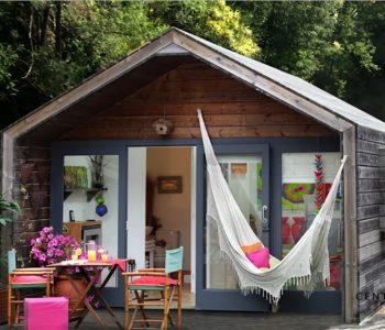 Nhà gỗ nghỉ dưỡng xinh xắn