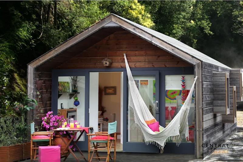 Mẫu nhà gỗ đẹp, Nhà gỗ nghỉ dưỡng xinh xắn