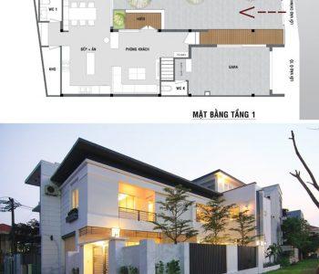 Nhà nở hậu chính là ngôi nhà xây dựng trên mảnh đất nở hậu