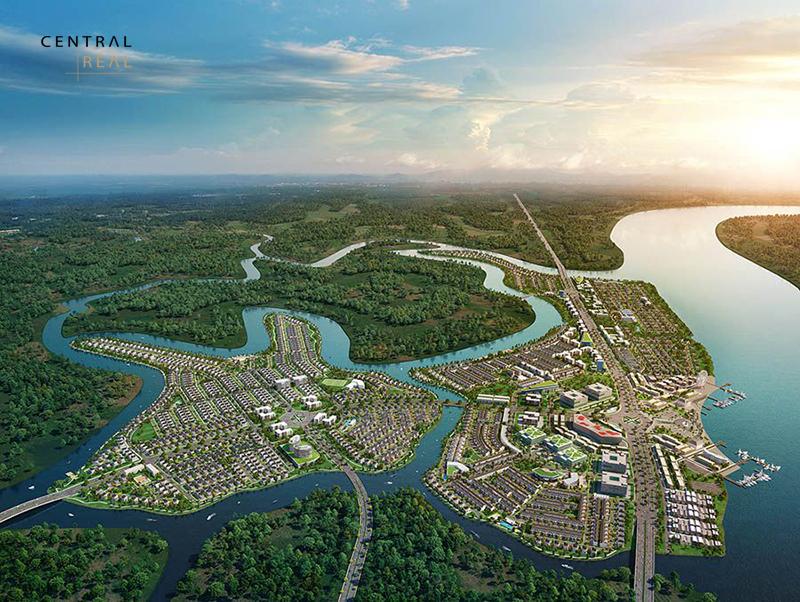 Đất đẹp là những mảnh đất gần sông hồ