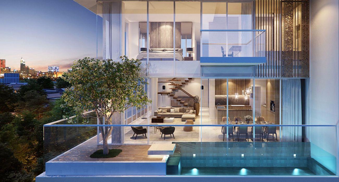 Căn hộ Sky Villa được mệnh danh là những biệt thự nghỉ dưỡng trên không