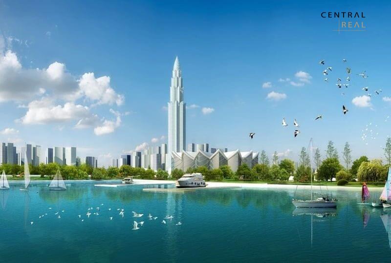 Phương Trạch Tower mang tới vẻ đẹp hiện đại và sang trọng