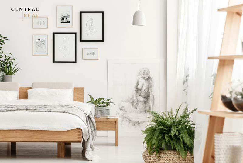 Trang trí cây xanh cho phòng ngủ thêm xinh xắn hơn