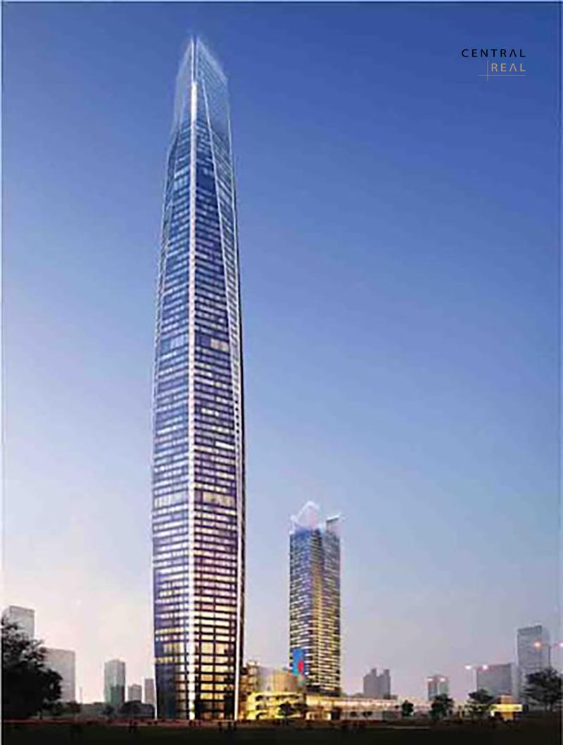 Toà tháp PetroVietnam Tower Complex có vị trí xây dựng tại Mỹ Đình nằm trong top những tòa nhà cao nhất Việt Nam trong tương lai