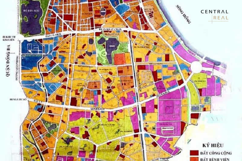 Thông tin quy hoạch Quận Hai Bà Trưng mới nhất
