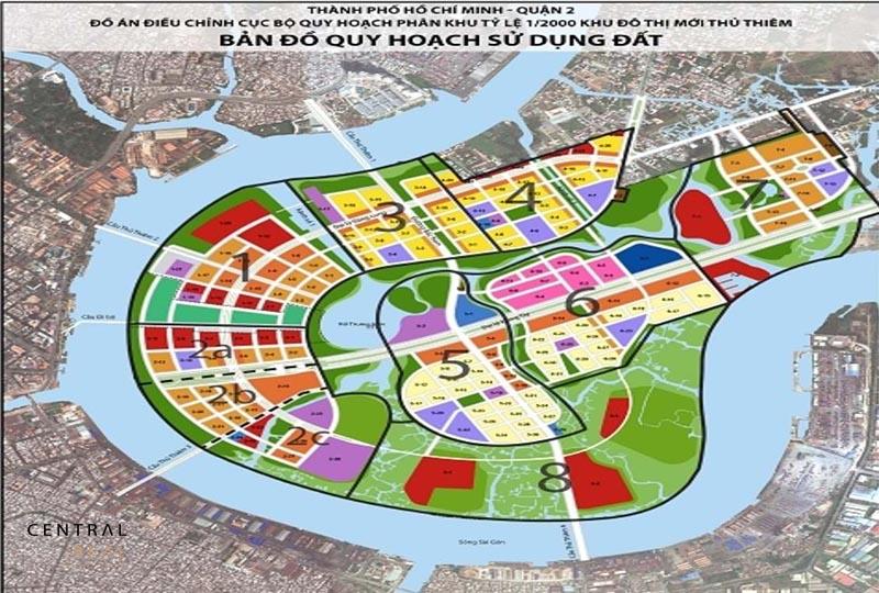 Đồ án quy hoạch phân khu xây dựng khu chức năng đặc thù