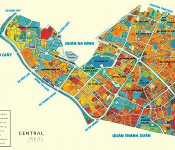 Bản đồ quy hoạch quận Đống Đa đến năm 2030