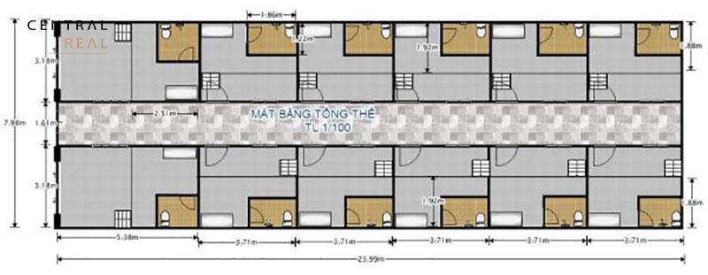 Giá xây 1 nhà trọ 30m2 2021