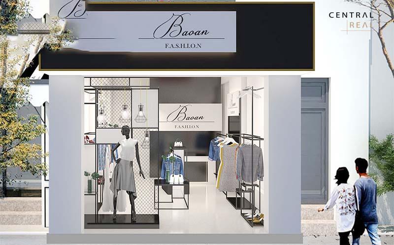 Nguyên tắc thiết kế mặt tiền shop quần áo