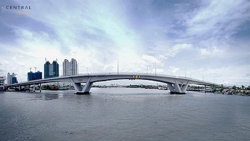 Cầu Thủ Thiêm - Điểm sáng duy nhất của khu vực Quận 2