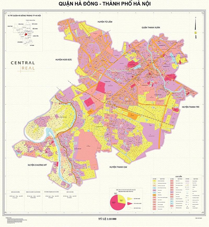 Giới thiệu chung về quy hoạch quận Hà Đông