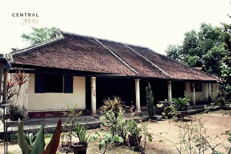 Nhà rường thường dựng vào hướng nam để có phong thủy tốt