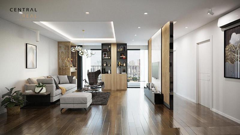 Nội thất được thiết kế đơn giản nhưng đáp ứng đầy đủ công năng, tiện nghi khi sử dụng
