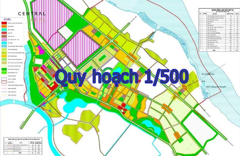 Quy hoạch 1/500 hay còn được gọi là quy hoạch chi tiết cho bản vẽ xây dựng tỷ lệ 1/500