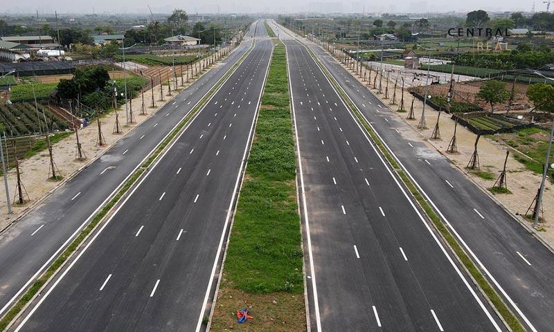 Đại lộ Tây Thăng Long trong tương lai sẽ là một trong những con đường đẹp nhất tại Hà Nội