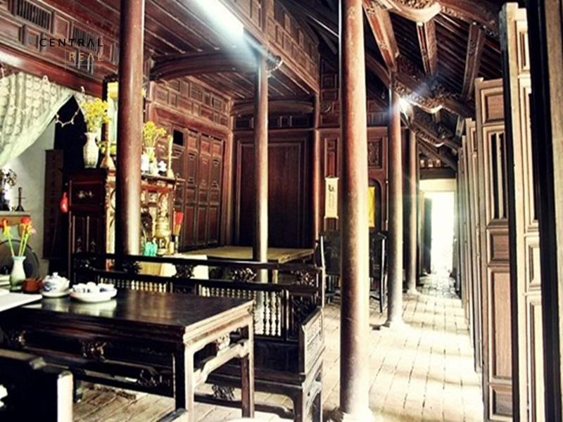 Mô hình thiết kế nhà rường huế xây dựng chủ yếu bằng gỗ