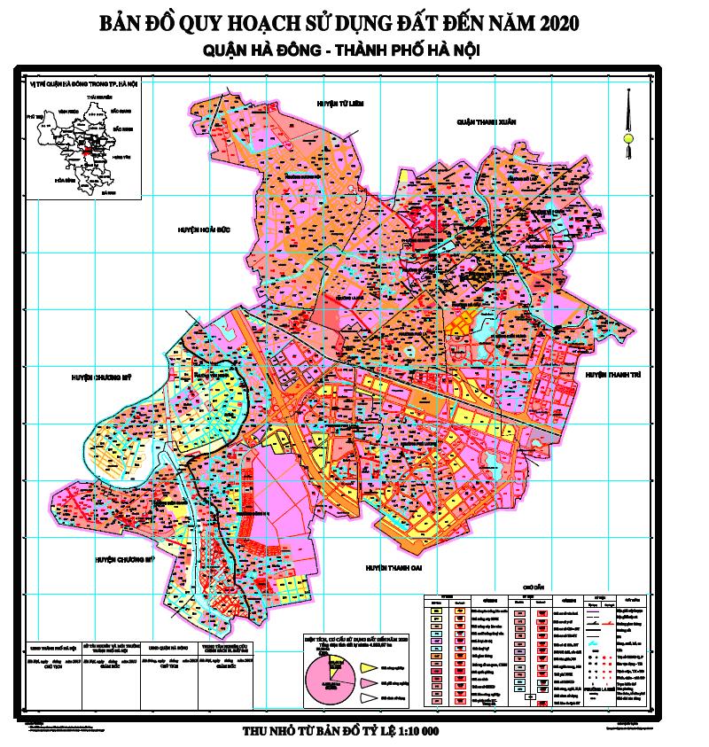 Thông tin về quy hoạch của quận Hà Đông