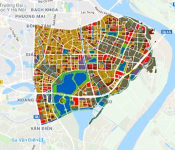 Thông tin chung về bản đồ quy hoạch quận Hai Bà Trưng Hà Nội