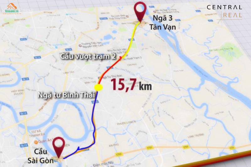Quy hoạch đường Xa lộ Hà Nội