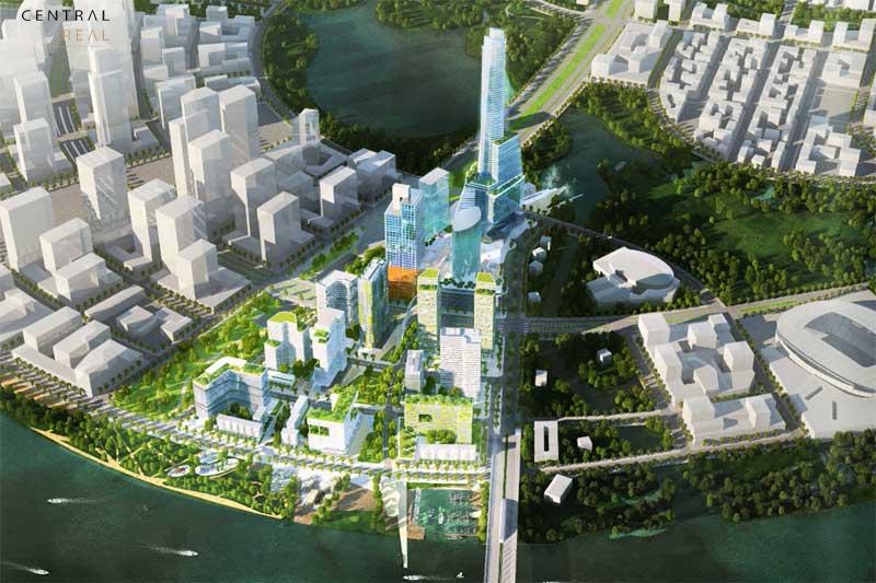 Phối cảnh thiết kế dự án Eco Smart City