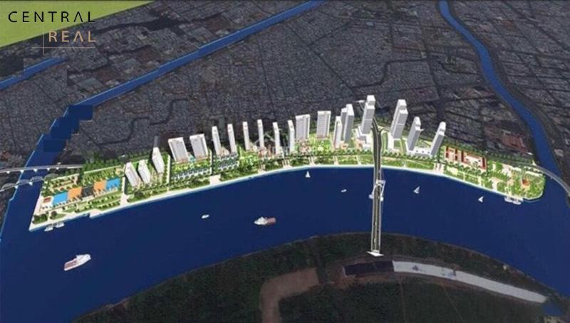 The Sun Tower trong Tổ hợp dự án khu đô thị Ba Son Sài Gòn