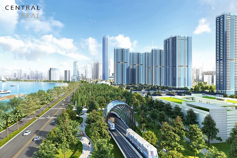 Các siêu dự án xuất hiện liên tục xung quanh tuyến Metro số 1