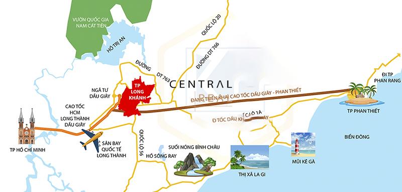 Hàng loạt các dự án và đầu tư xung quanh khu vực đường cao tốc
