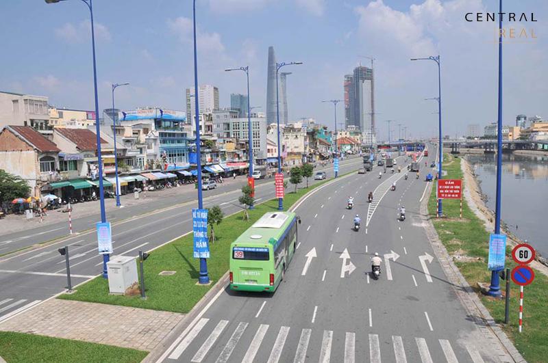 Sự hình thành của Đại lộ Đông Tây – Xóa bỏ khu ổ chuột xung quanh