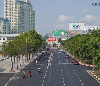 Sau 18 tháng sửa chữa, đường Nguyễn Hữu Cảnh chính thức thông xe