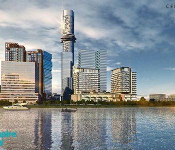 Tòa empire City 88 tầng – Soán ngôi Landmark 81 tòa cao nhất VN