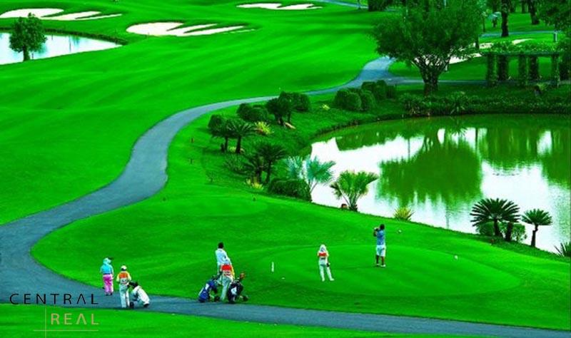 Sân Golf có chất lượng và dịch vụ cao cấp ngang hàng quốc tế