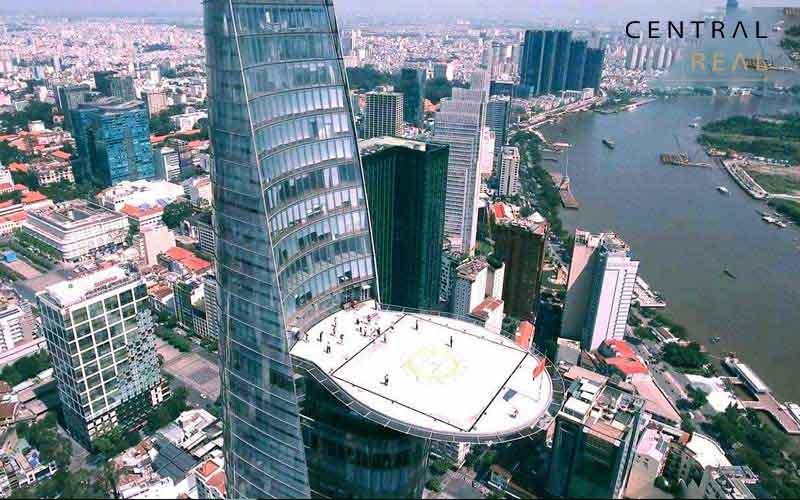 Bãi đỗ trực thăng của tòa nhà Bitexco Sài Gòn