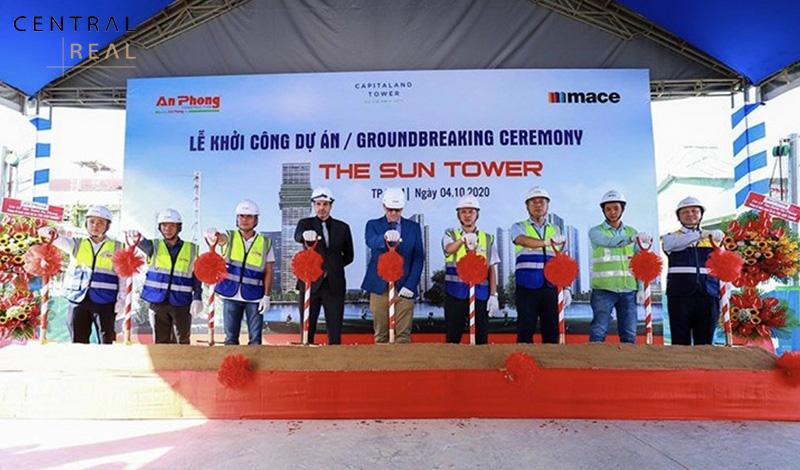 Lễ khởi công tòa The Sun Tower Ba Son