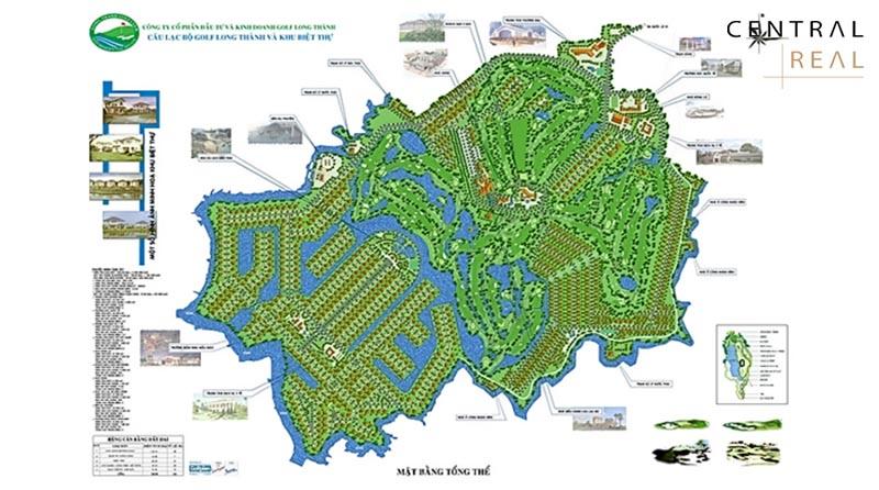 Sân golf Long Thành nằm trong khu vực có tiềm năng phát triển bậc nhất Đồng Nai
