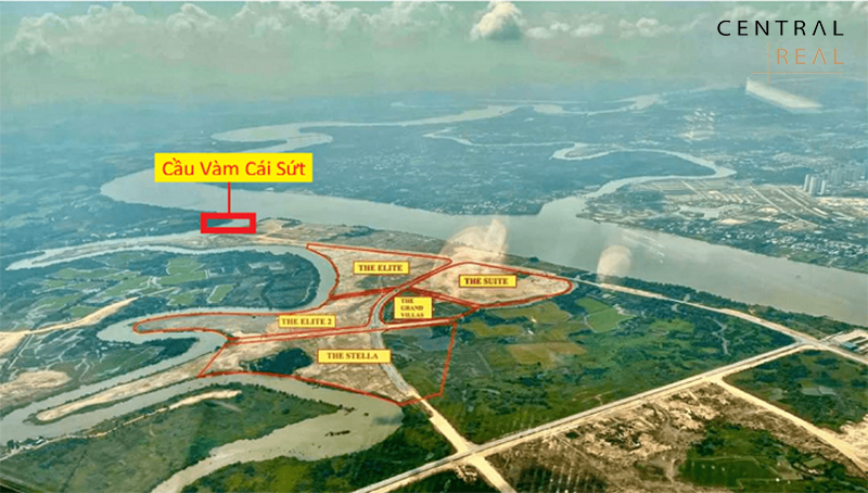 Cầu Vàm Cái Sứt giúp giải tỏa áp lực giao thông cho khu vực phía Nam Biên Hòa