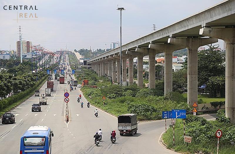 Hiện trạng tuyến Metro số 1 Bến Thành Suối Tiên