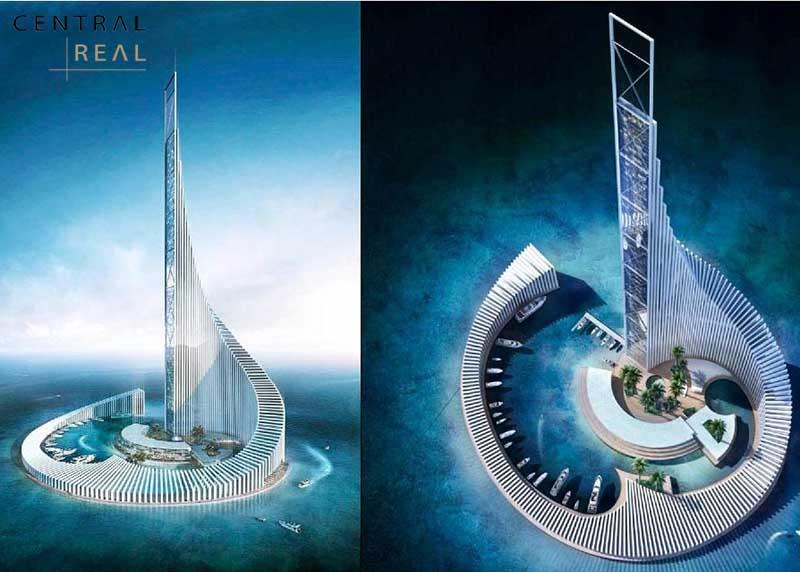Tòa tháp Sun World - Hạ Long