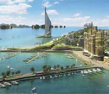 Tháp Domino Hạ Long Bay – cao thứ 4 thế giới xuất hiện ở Việt Nam
