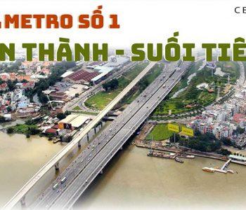 Tuyến Metro số 1 bến thành suối tiên hiện giờ ra sao?