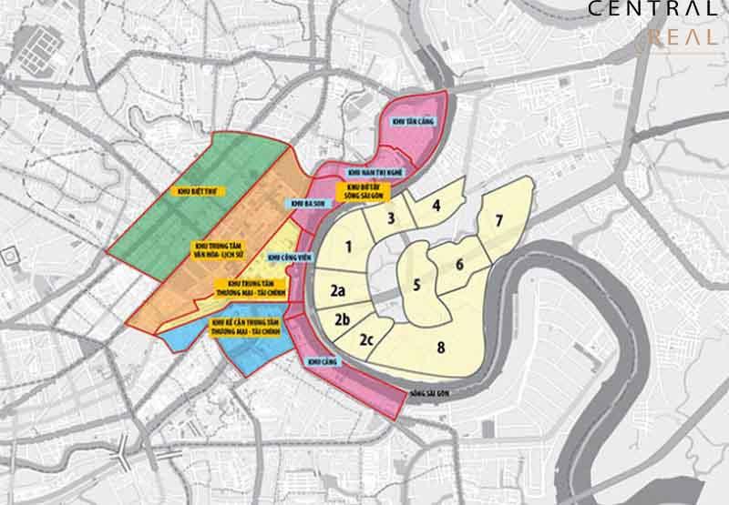 Quy hoạch phân khu tại khu đô thị