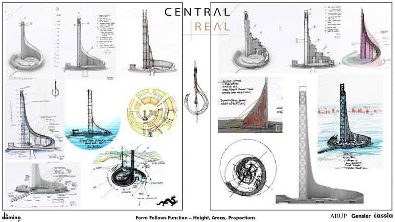 Thiết kế tòa tháp Domino Hạ Long