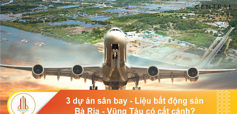 Quy hoạch 3 sân bay tại Vũng Tàu