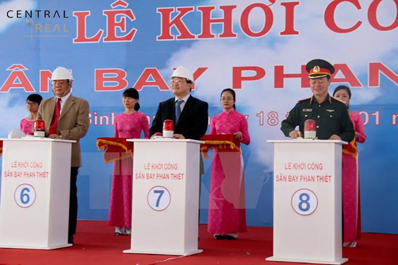 Lễ khởi công dự án sân bay Phan Thiết